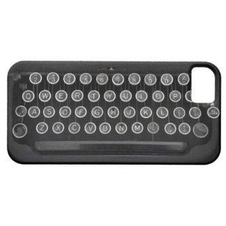 Vintage Schreibmaschine iPhone 5 Schutzhülle