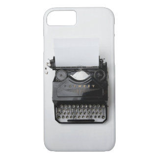 Vintage Schreibmaschine iPhone 8/7 Hülle