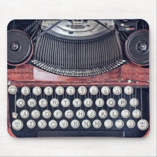 Vintage Schreibmaschine Mousepad