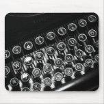 Vintage Schreibmaschine Mousepads
