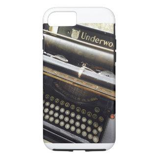 Vintage Schreibmaschine starken iphone Falles iPhone 8/7 Hülle