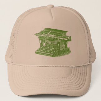 schreibmaschine trucker kappen schreibmaschine baseball cap motive. Black Bedroom Furniture Sets. Home Design Ideas