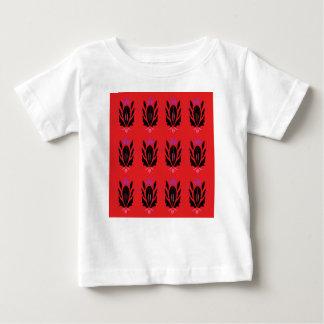 Vintage Schwarzweiss-Verzierungen Baby T-shirt