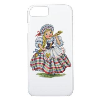 Vintage Schweizer Puppe iPhone 8/7 Hülle