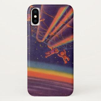 Vintage Science Fiction, Sci iPhone X Hülle