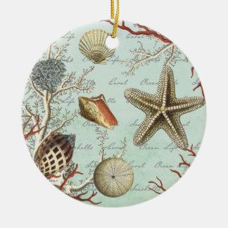 Vintage Seashells… Verzierung Ornamente