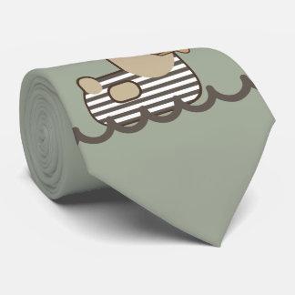 Vintage Seemann-Ente Bedruckte Krawatte