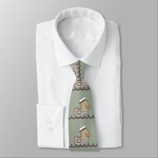 Vintage Seemann-Ente Bedruckte Krawatten