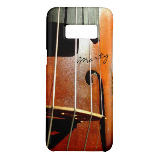 Vintage signierte Violine oder Cello Case-Mate Samsung Galaxy S8 Hülle