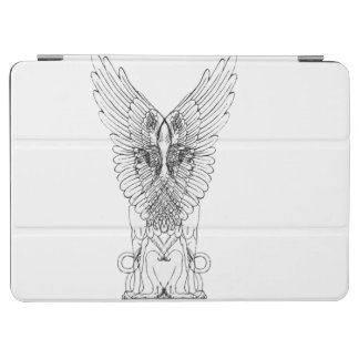 Vintage Sphinxillustration iPad Air Cover