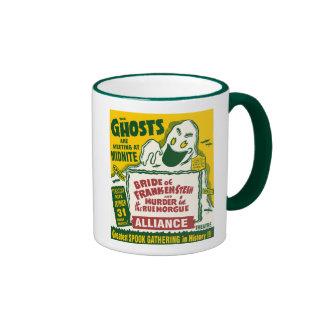 Vintage Spook-Show-Plakat-Kunst - Geister Kaffee Tasse