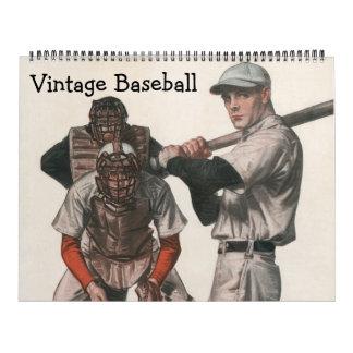Vintage Sport-Baseball-Spieler, Teams, Athleten Kalender