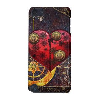 Vintage Steampunk Herz-Tapete iPod Touch 5G Hülle
