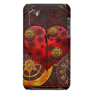 Vintage Steampunk Herz-Tapete iPod Touch Case-Mate Hülle