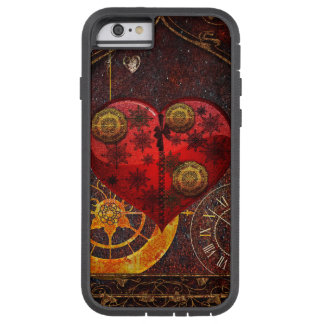 Vintage Steampunk Herz-Tapete Tough Xtreme iPhone 6 Hülle