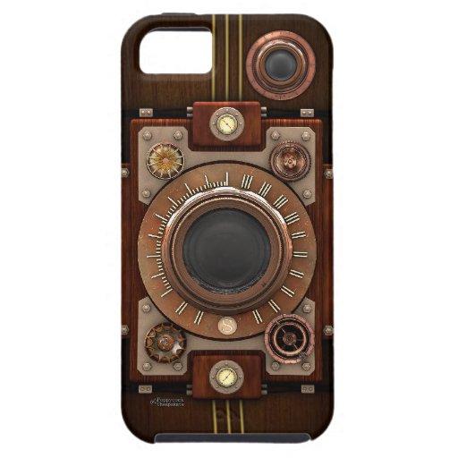 Vintage Steampunk Kamera #1B iPhone 5 Hülle