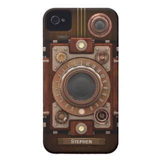 Vintage Steampunk Kamera #1C iPhone 4 Hülle