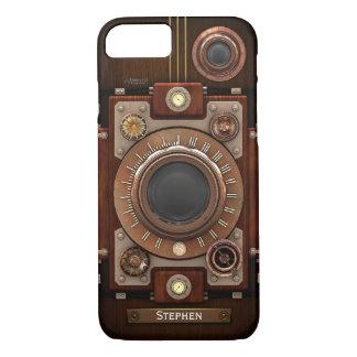 Vintage Steampunk Kamera #1C iPhone 7 Hülle