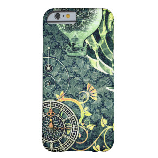 Vintage Steampunk Tapete Barely There iPhone 6 Hülle