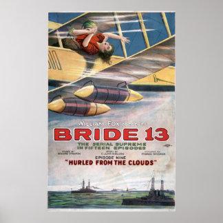 Vintage stiller Film der Poster