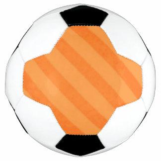 Vintage Süßigkeits-Streifen-Mandarine-Orange Fußball