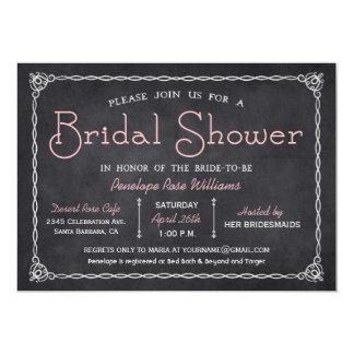 Vintage Tafel-Brautparty-Einladungen 12,7 X 17,8 Cm Einladungskarte