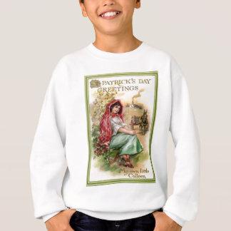 Vintage Tageskarte Colleen St Patrick Sweatshirt