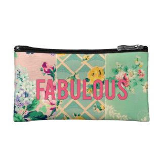 """Vintage Tapetencollagentasche """"fabelhaft """""""