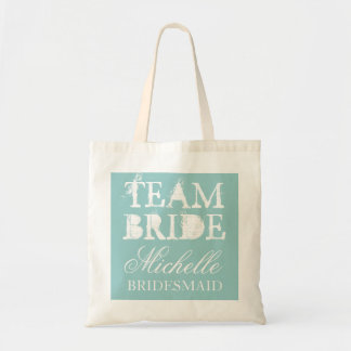 Vintage Teambraut-Hochzeits-Tasche sackt |