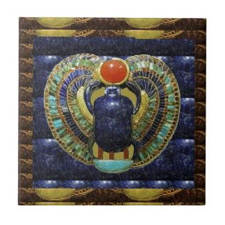 VINTAGE Tempel-Künste von Ägypten-PYRAMIDEN Keramikfliese