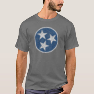 Vintage Tennessee-Flagge T-Shirt