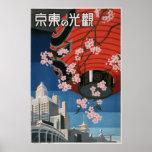 Vintage Tokyo-Reise Poster