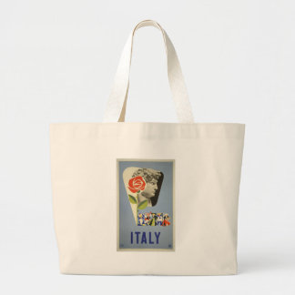 Vintage-Travel-Poster-Italy-5 Jumbo Stoffbeutel