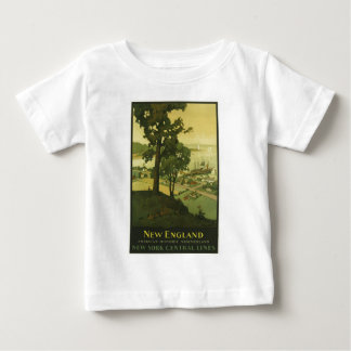 Vintage-Travel-Poster-New-England-USA-2 T-Shirts