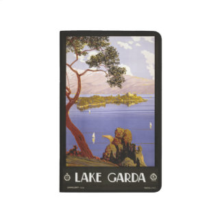 Vintage Travel See Garda Italien Taschennotizbuch