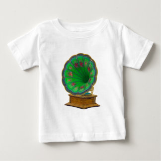 Vintage Turntable Baby T-shirt