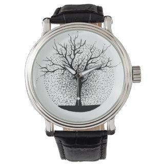 Vintage Uhr für Naturliebhaber