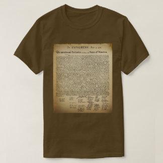 Vintage Unabhängigkeitserklärung T - Shirt
