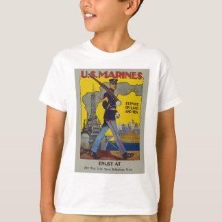 Vintage US-Marinesoldaten T-Shirt