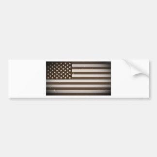 Vintage USA-Flagge Autoaufkleber