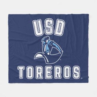 Vintage USD Toreros Fleecedecke