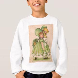 Vintage Valentine-St Patrick Tageskarte Sweatshirt