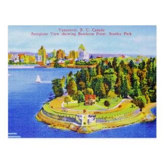 Vintage Vancouver-Insel-Postkarte Postkarte