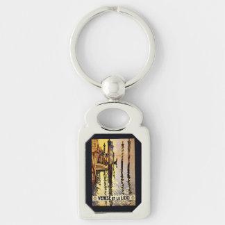 """Vintage """"Venise und le Lido"""" Italien Schlüsselanhänger"""