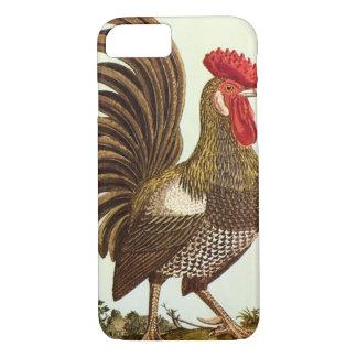 Vintage Vieh-Hühner, stolzer Hahn iPhone 8/7 Hülle