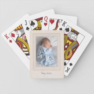 Vintage Vierzigerjahre Matte mit kundengerechtem Spielkarte