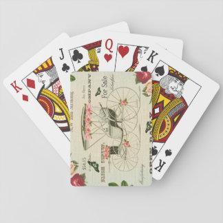 Vintage viktorianische girly Spielkarten mit