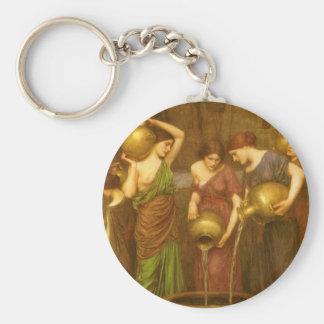Vintage viktorianische Kunst, das Danaides durch Schlüsselanhänger