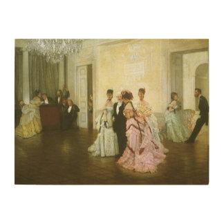 Vintage viktorianische Kunst, zu früh durch James Holzwanddeko