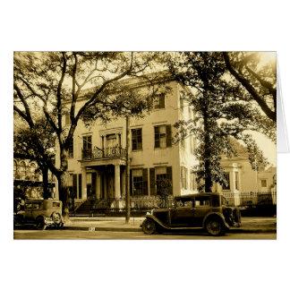Vintage Villa Jonathans Emanuel, bewegliches Grußkarte